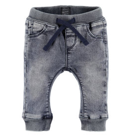 Baby Boys Jogg Jeans, Smoke Blue Denim