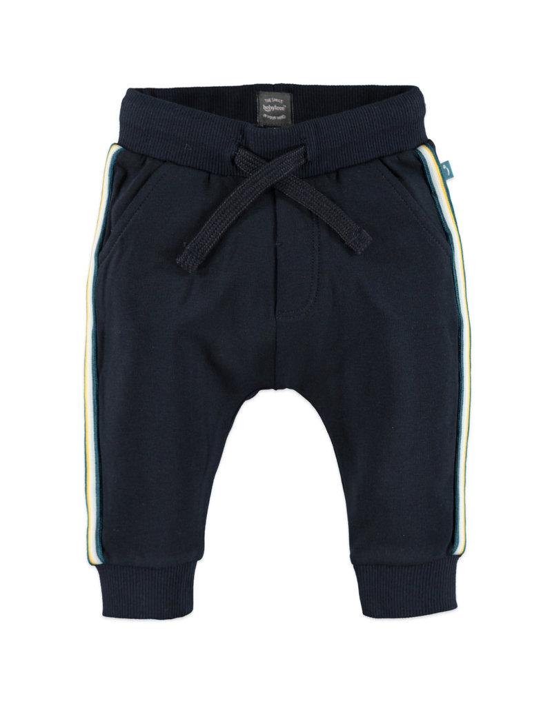 Baby Boy Sweats, Navy Side Stripe