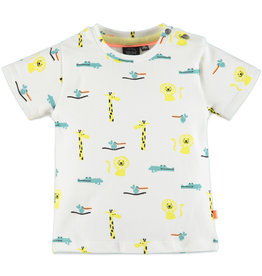Baby Boy Tee, Neon Safari