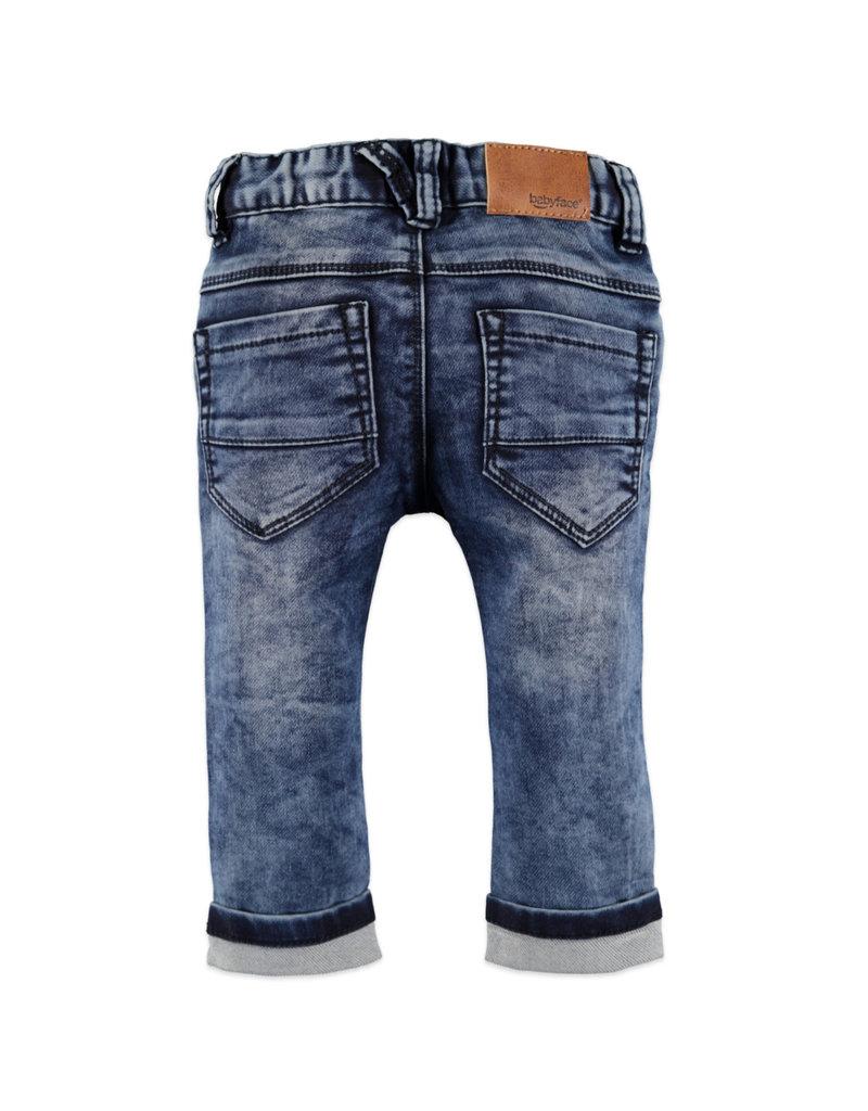 Boys Jogg Jeans, Medium Blue Den