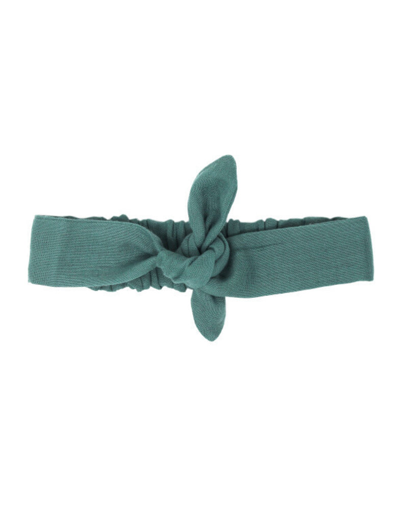 Organic Muslin Tie Headband, Oasis