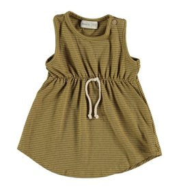 Jasmine Striped Dress, Organic Cotton