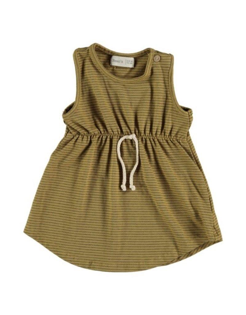 Jasmine Striped Dress, Organic Cotton