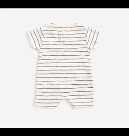 Striped Rib Jumpsuit, Ivory