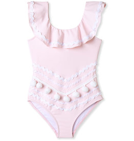 Ric Rac Pom Swim, Pink
