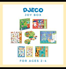 DJECO Djeco Joy Box Bundle 1, Age 2-4