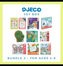 DJECO Djeco Joy Box Bundle 2, Age 4-6