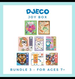 DJECO Djeco Joy Box Bundle 3, Age 7+