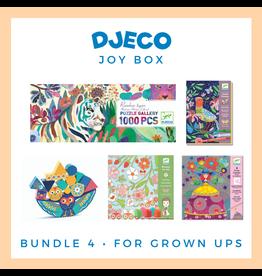 DJECO Djeco Joy Box Bundle 4, Grown Ups