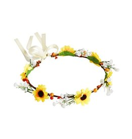Sunflower Floral Headpiece