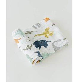 Cotton Swaddle, Dino Friends
