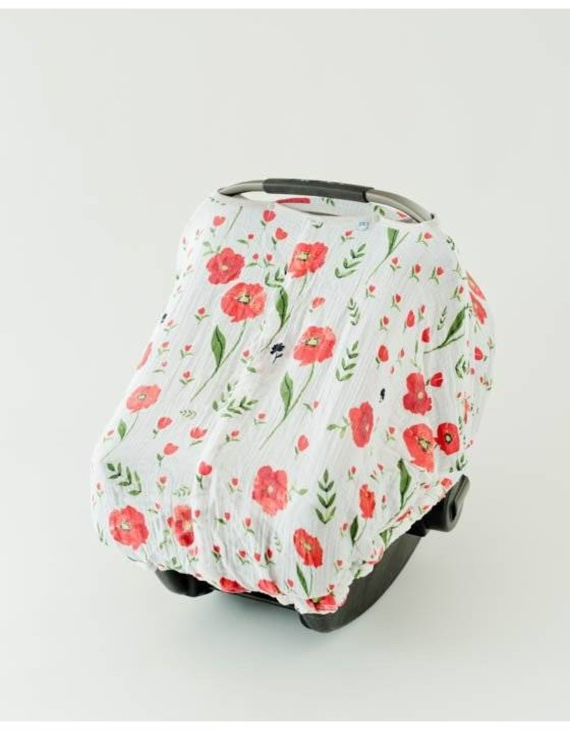 Car Seat Canopy - Summer Poppy ... & Car Seat Canopy - Summer Poppy - Lily Valley Baby