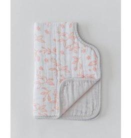 Burp Cloth - Garden Rose