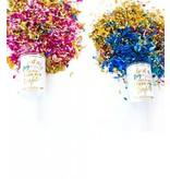 Gender Reveal Push Pop Confetti - Girl