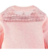 Delicate Lace Cardigan - Pink