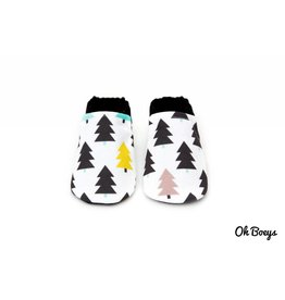 Evergreen Tree Booties