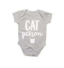 Pint Sized Onesie - Cat Person