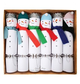 Snowman Crackers