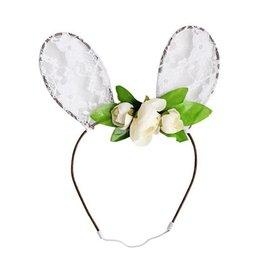 Dainty Lace Bunny Ears