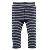 Stripe Leggings - Blue Indigo