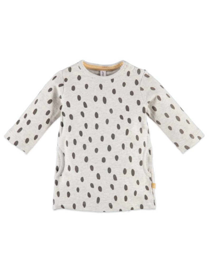Speckle Dot Sweatshirt Dress