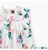 Georgia Peach Pleated Baby Dress