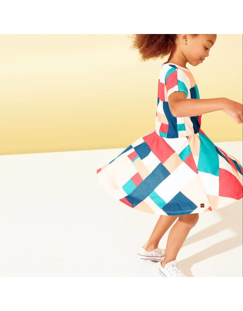 Gee's Bend Quilt Skirted Dress