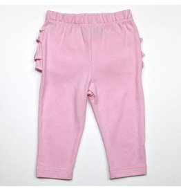 Ruffle Butt Baby Leggings, Dreamy Pink