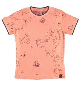 Atlas Boys Tee, Neon Orange