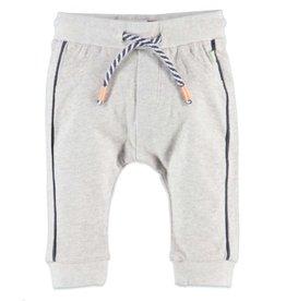 Navy Stripe Sweats, Cool Grey Melee