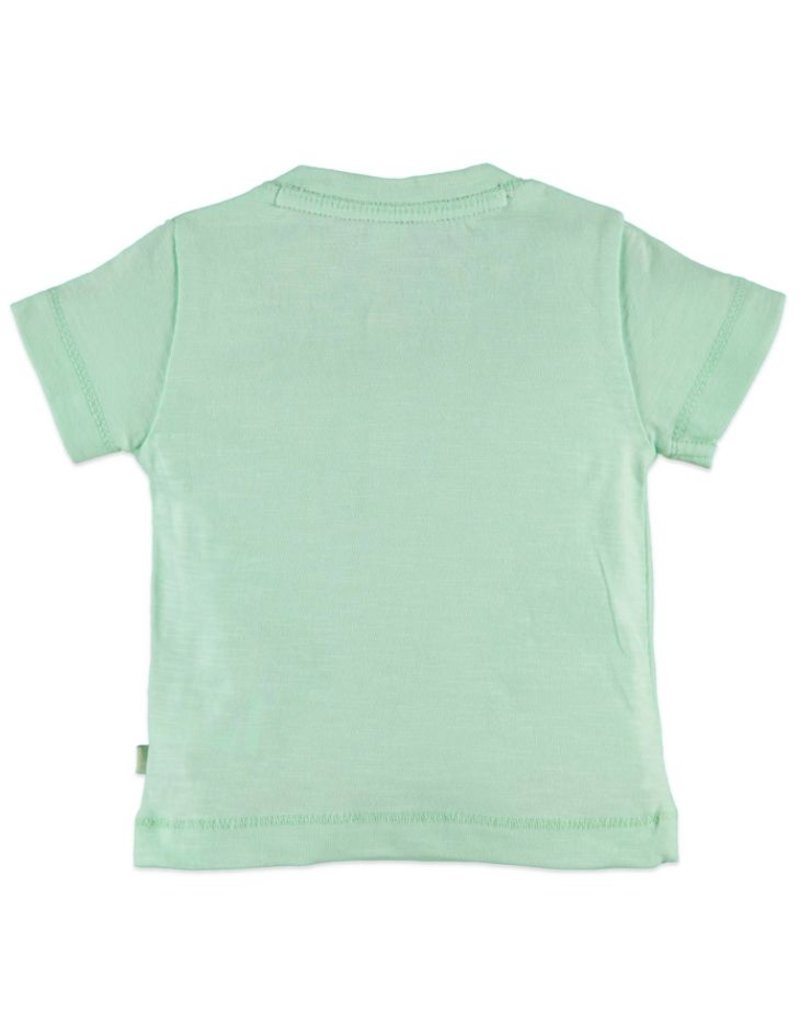 Snack Graphic Tee, Pastel Green