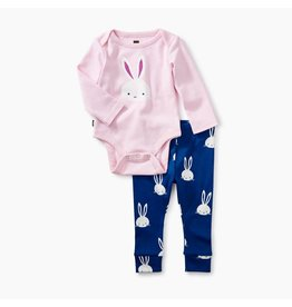 2-Piece Bodysuit Baby Outfit, Bunny