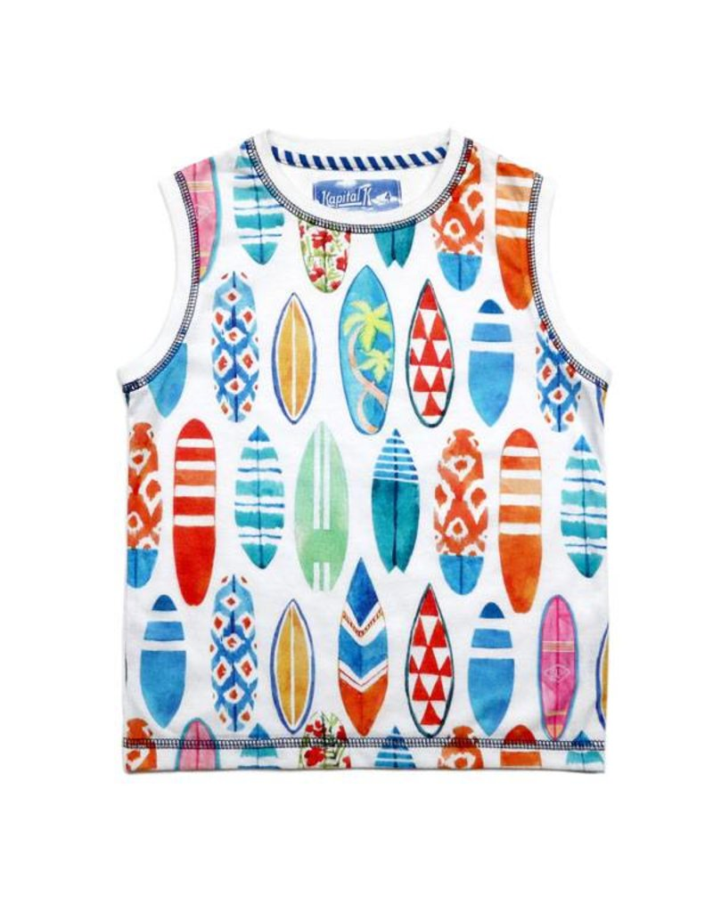 Surf's Up Muscle Tank