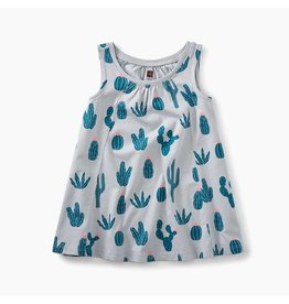 Trapeze Baby Dress, Prickly Cactii