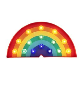 Rainbow Marquee Light