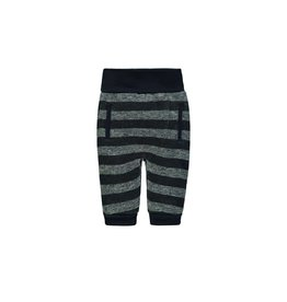 Boys Stripe Jogger, Navy