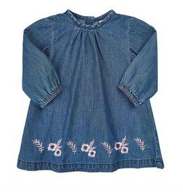 Blue Denim Organic Cotton Dress
