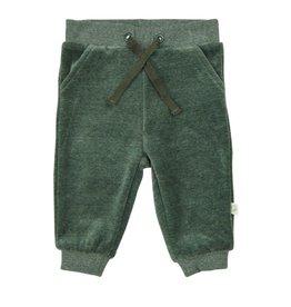 Velour Pants, Green