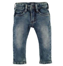 Boys Jogger Jeans, Blue Denim w Cuff