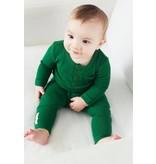Organic Thermal Pajama Set, Emerald
