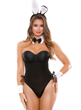 Fantasy Lingerie Midnight Bunny Costume
