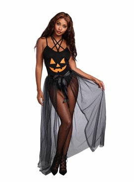 1 Sheer Costume Skirt