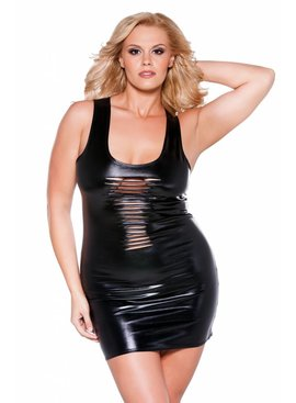 1 Risque Kitten Dress - Plus Size