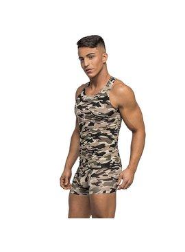 Male Power Commando Tank Top