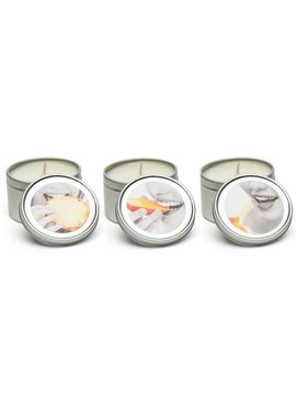 Earthly Body Tropical Candle Trio