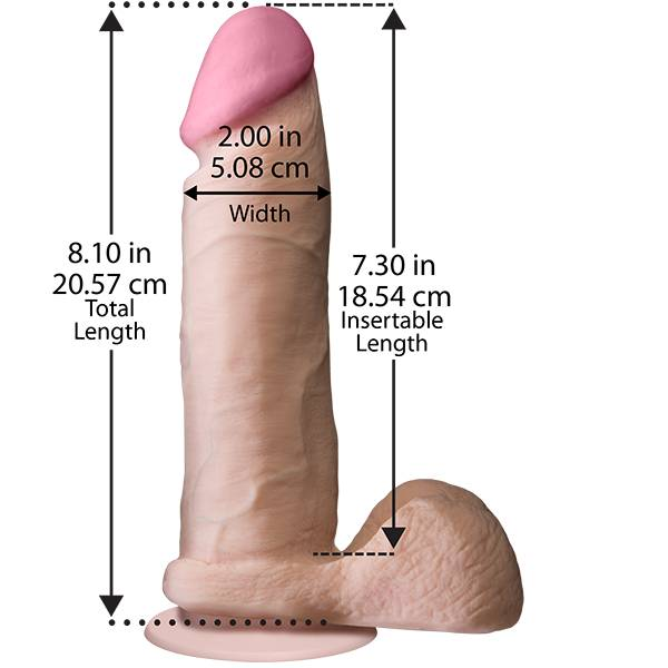 Doc Ultra Real The Realistic Cock - 8 inch