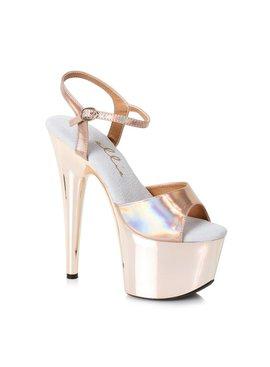 """Ellie Shoes Ellie Bria Gold 7"""" Pump"""