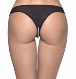 Pearl Crotchless Thong