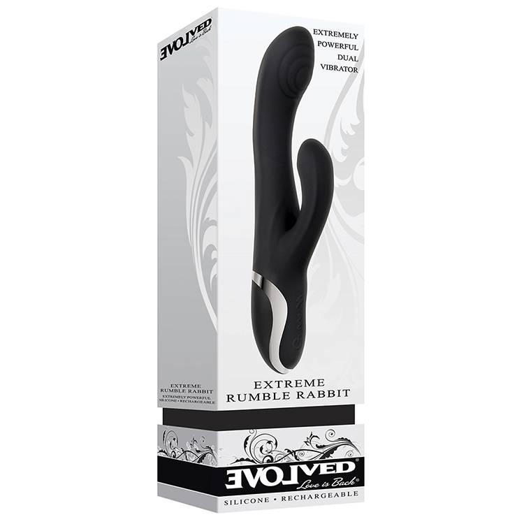 Evolved Novelties Extreme Rumble Rabbit Vibrator