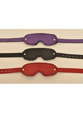 RAPTURE LEATHER Basic Blindfold